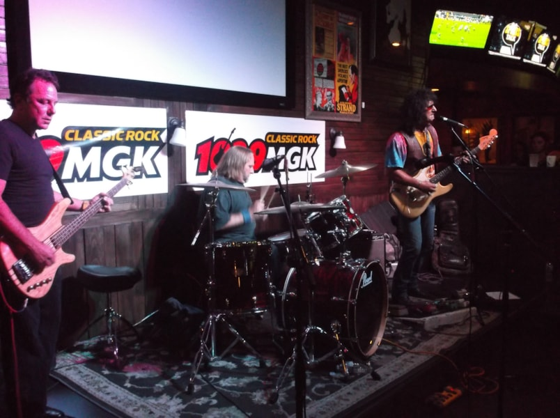 MGK's House Band Competition is officially underway. The competition kicked off at Doc Watson's in Exton, PA. Four bands competed, and Green Machine came out as the victor and moves on to compete in the finals.