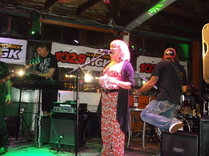 Another semi-finals round of our House Band Competition took place at Cavanaugh's River Deck and Debbi Calton was there for the action. The Fitch Brothers, Salvatize, Sidearm & SwitchKitten all competed. The Fitch Brothers are the ones who move on to the finals.