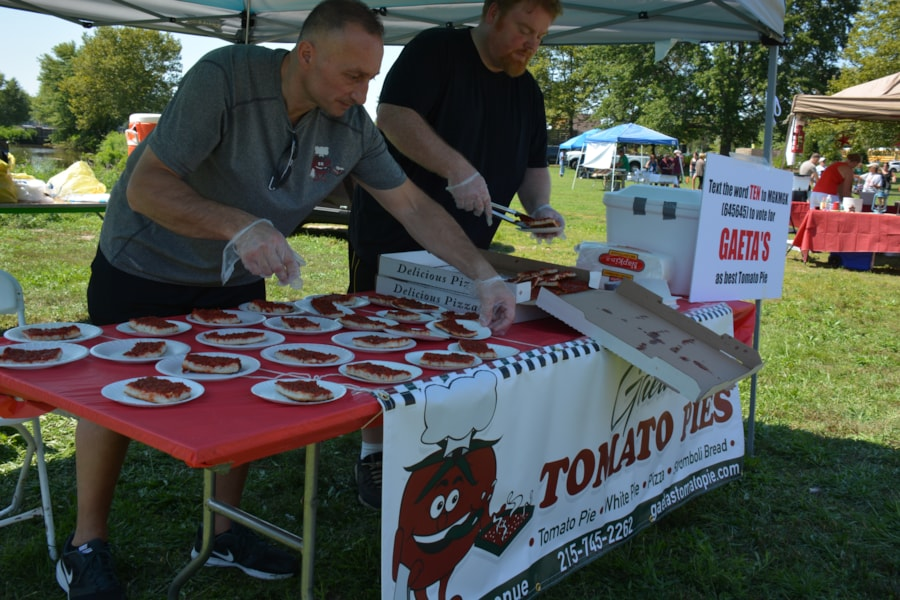 John DeBella's Tomato Fest was a blast! Hundreds of listeners came out to Pennsauken's beautiful Cooper River Park (the field next to Cooper House Restaurant) to enjoy free tomato pie samples from the area's best purveyors, drink delicious beverages in Cooper House's beer garden, take part in plenty of tomato themed contests as well as…
