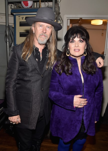 CLEVELAND, OH - APRIL 14:  Recording artists Jerry Cantrell and Ann Wilson attend the 33rd Annual Rock & Roll Hall of Fame Induction Ceremony at Public Auditorium on April 14, 2018 in Cleveland, Ohio.  (Photo by Theo Wargo/Getty Images For The Rock and Roll Hall of Fame)
