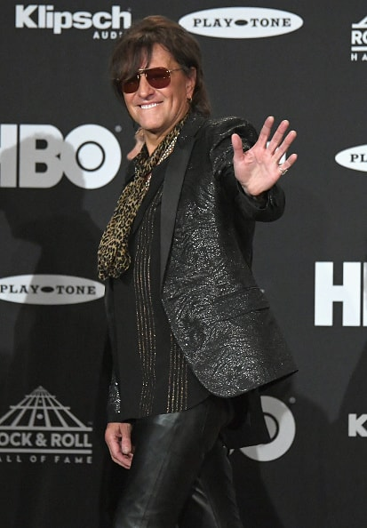 CLEVELAND, OH - APRIL 14:  Inductee Richie Sambora attends the 33rd Annual Rock & Roll Hall of Fame Induction Ceremony at Public Auditorium on April 14, 2018 in Cleveland, Ohio.  (Photo by Mike Coppola/Getty Images For The Rock and Roll Hall of Fame)