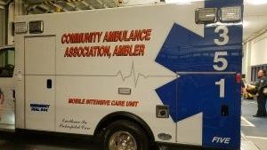 Steve Vasalotti visits Ambler Ambulance Company