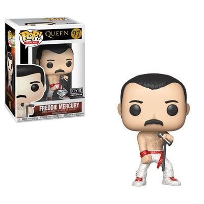 Freddie Mercury - 'Hot Space' - Funko Pop! Rocks Figure