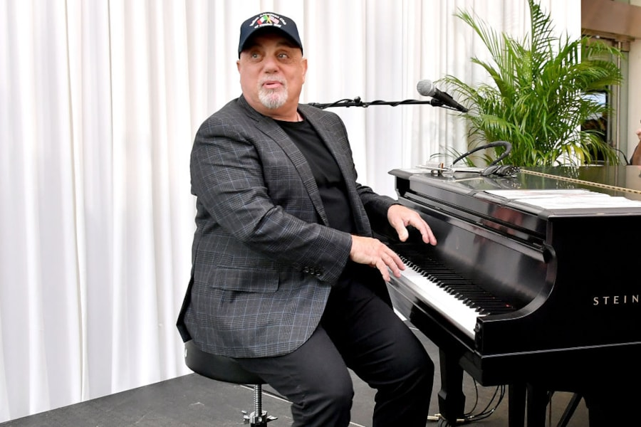 The past four years saw The Piano Man become a father again...and again.  Joel and wife, Alexis Roderick, welcomed daughters, Della Rose and Remy Anne, in August 2015 and October 2017.  Joel was 66 and 68, respectively.