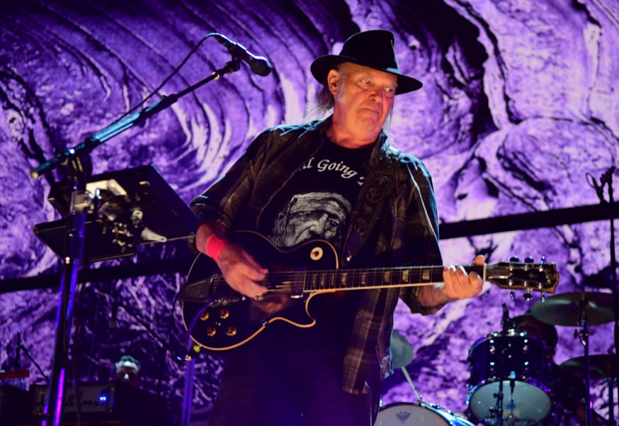 Neil Young with Crazy Horse - 'Everybody Knows This Is Nowhere' (May 14)