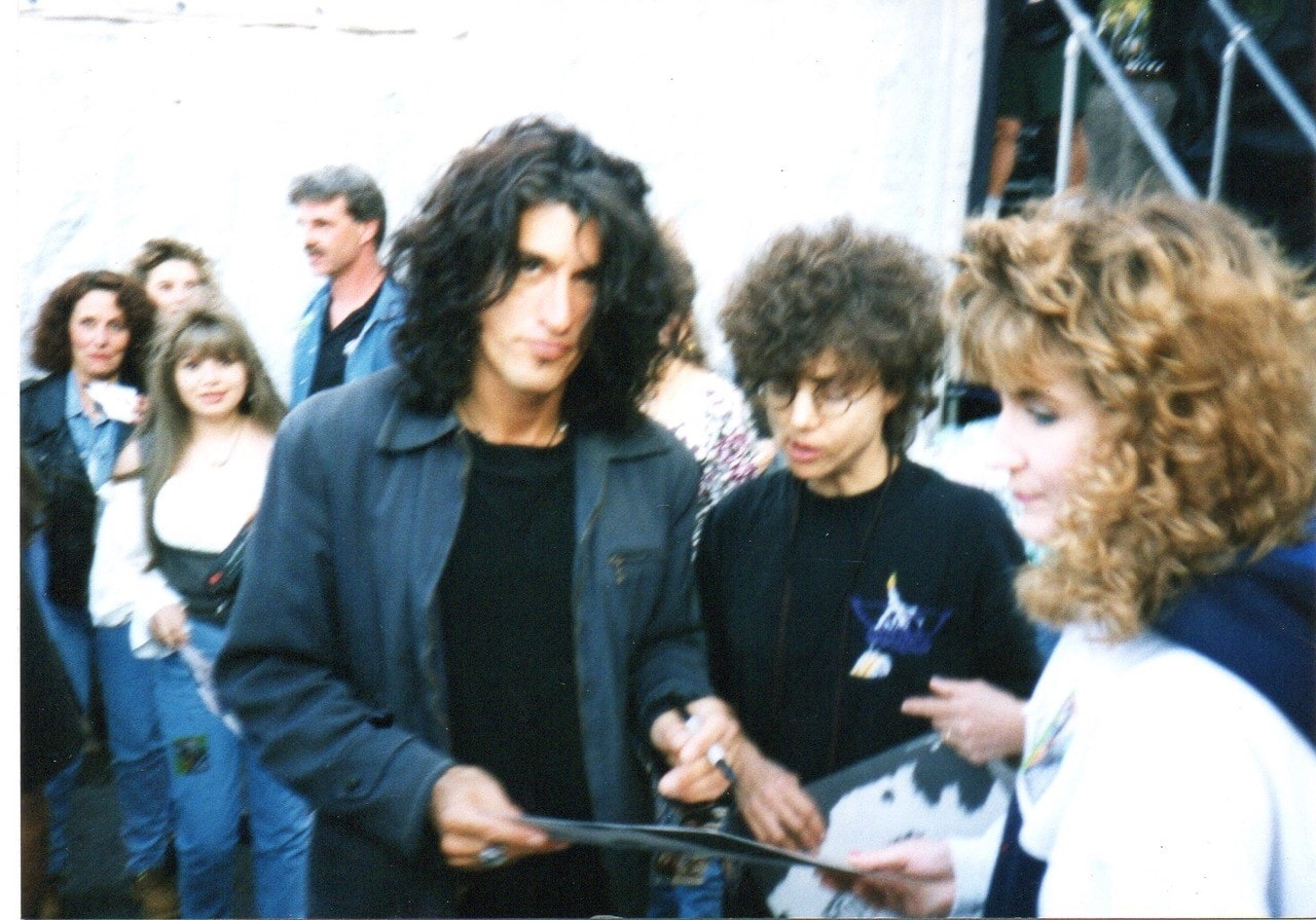 Bobbi with Joe Perry (Aerosmith)