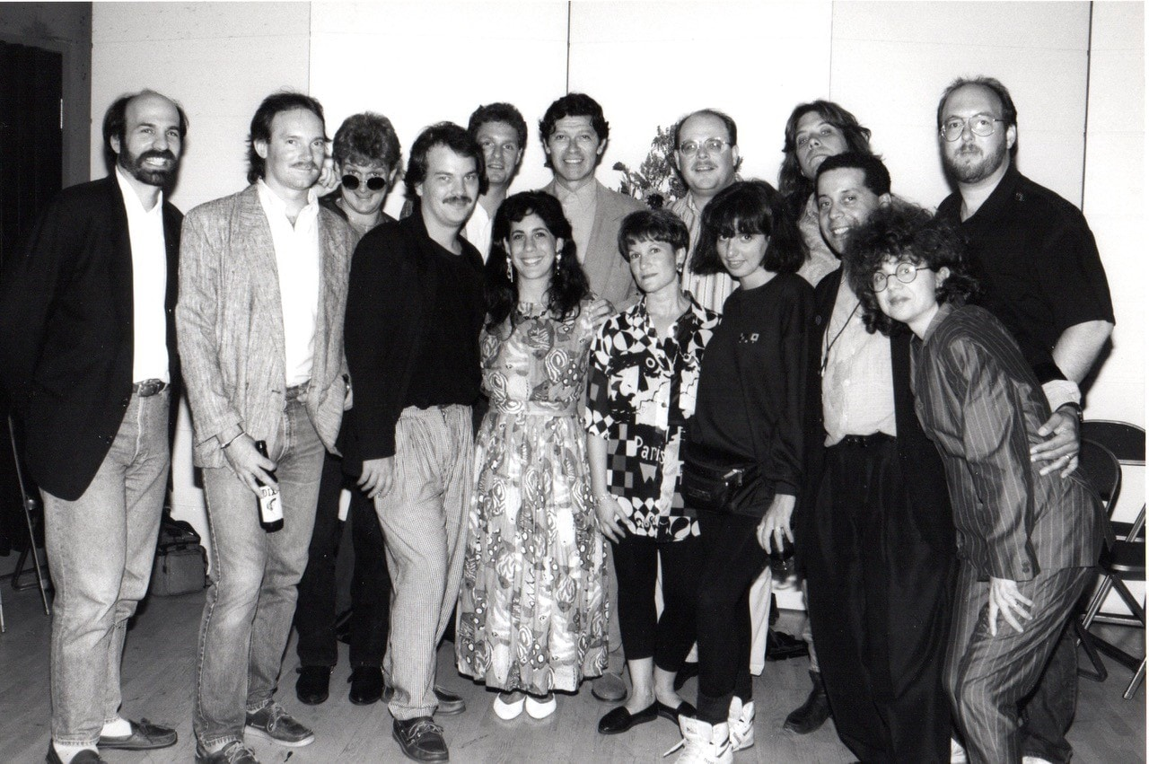 Bobbi with Robbie Robertson (The Band)