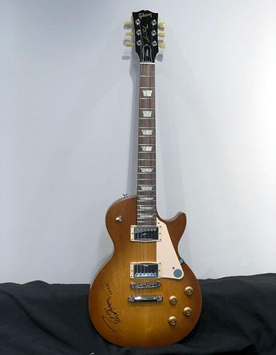 Peter Frampton Autographed Guitar