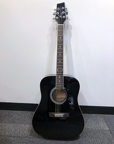 Toby Keith Signed Guitar