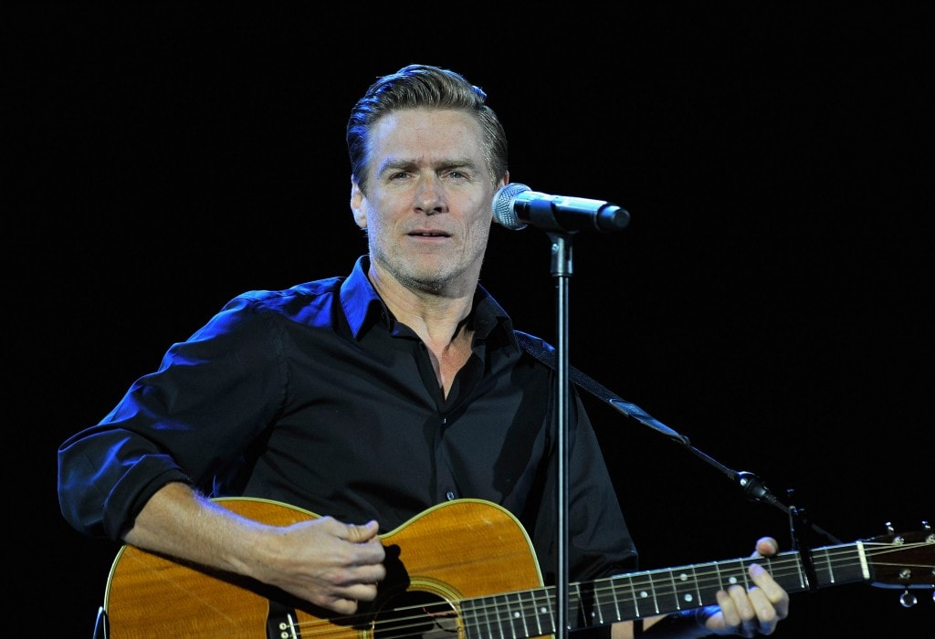 LONDON, ENGLAND - JANUARY 13:  Bryan Adams performs onstage during 'A Concert For Killing Cancer' at Hammersmith Apollo on January 13, 2011 in London, England.  (Photo by Gareth Cattermole/Getty Images)
