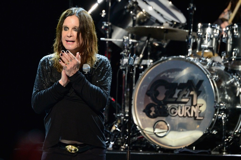 LOS ANGELES, CA - MAY 12:  Musician Ozzy Osbourne performs onstage at the 10th annual MusiCares MAP Fund Benefit Concert at Club Nokia on May 12, 2014 in Los Angeles, California.  (Photo by Frazer Harrison/Getty Images)