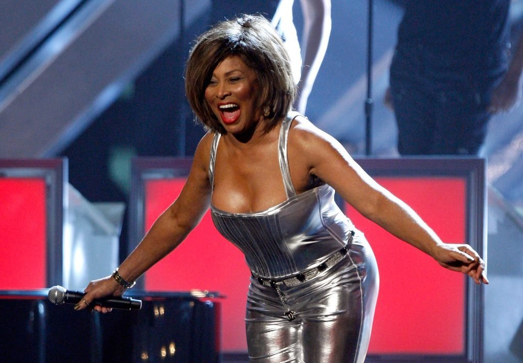 LOS ANGELES, CA - FEBRUARY 10:  Singer Tina Turner performs onstage during the 50th annual Grammy awards held at the Staples Center on February 10, 2008 in Los Angeles, California.  (Photo by Kevin Winter/Getty Images)