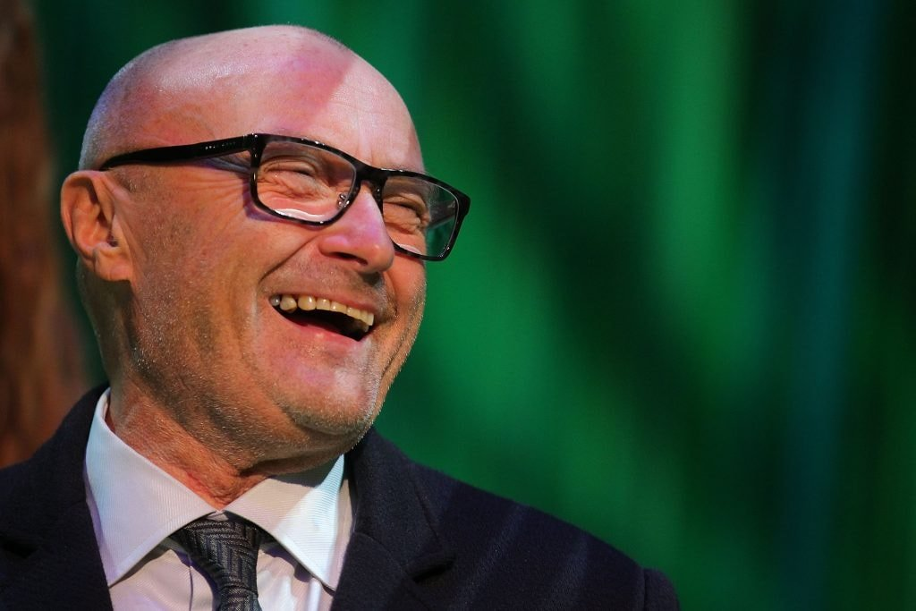 Phil Collins at the Stuttgart Premiere of the musical 'Tarzan'  on November 21, 2013 in Stuttgart, Germany.  (Photo by Thomas Niedermueller/Getty Images)