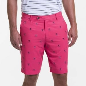 Pink whale-of-a-tale shorts